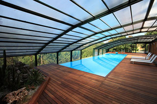 Coperture Mobili Per Piscina : Ares piscine coperture piscine interrate e fuoriterra a